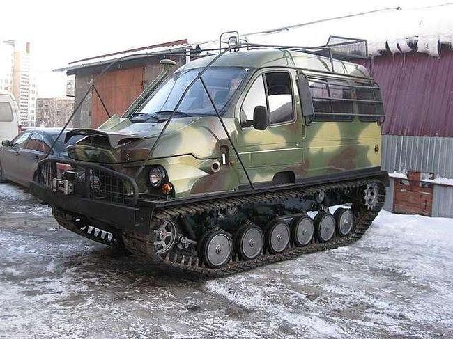 """ГАЗ-3409 """"БОБР""""1"""