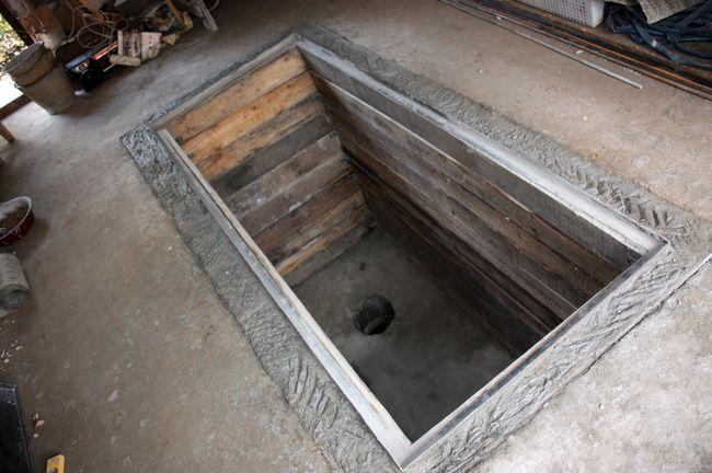 Смотровая яма в гараже