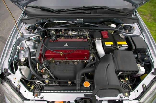 двигатель Mitsubishi Lancer Evolution IX