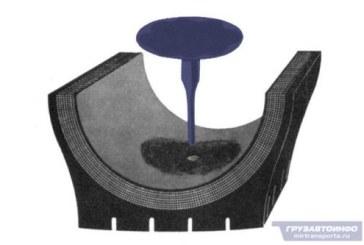 Ремонт бескамерных шин
