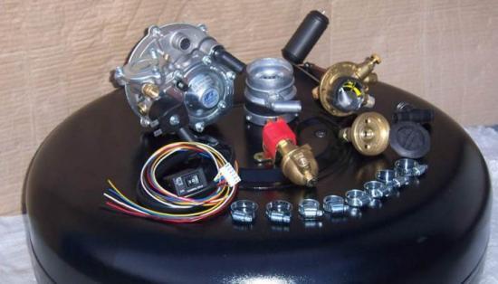 комплект ГБО для инжекторных автомобилей