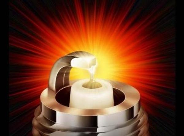 свечи зажигания в работе